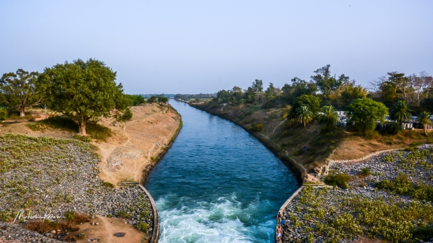 Articial Irrigation Canal Monimuktarpur